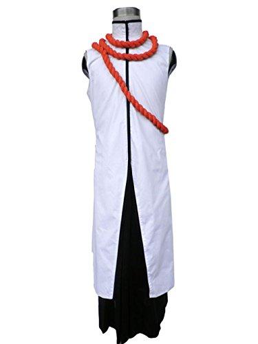 [Anime Bleach Tousen Kaname Cosplay Costume] (Kaname Tousen Costume)
