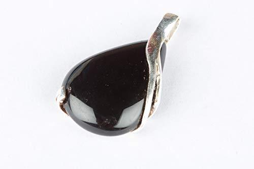 Teardrop Shape Black Onyx Pendant 925 Sterling Silver Gemstone Handmade Exquisite onyx Handmade Jewelry
