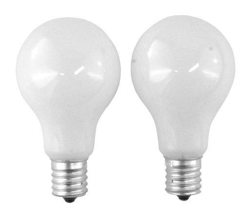 SYLVANIA 40-Watt A15 -White- Ceiling Fan Bulbs - Intermdiate
