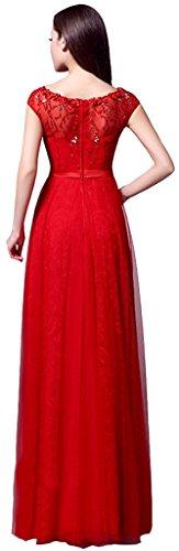 Linie Damen Rot Kleid Drasawee A Rot qa0OwS