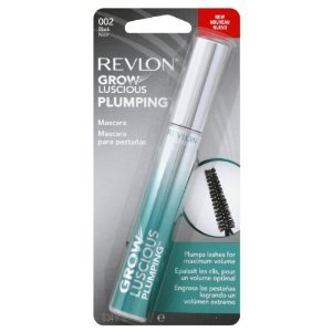 Revlon Grow Luscious Plumping Mascara, Black, 0.34 Fluid Ounce