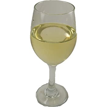 LARGE WHITE WINE GLASS Fake Drink