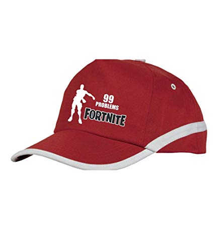Rojo 99 Acokaia Problems Fortnite Gorra en w7P44FSXq