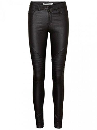 NOISY MAY Jeans slim Jean Biker Noir Huil Lucy - Noisy May Les Noirs