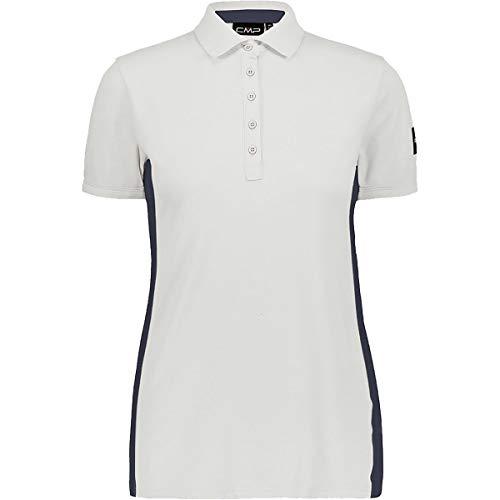 CMP Damen Polohemd mit seitlichem Streifen