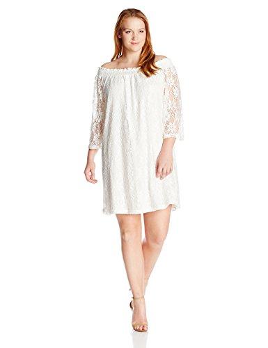 Buy ivory dresses plus size - 1