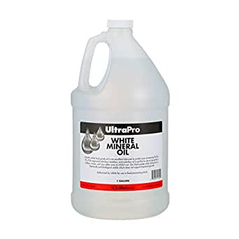 Food Grade Mineral Oil, 1 Gallon (128oz), for Cutting Boards and Butcher Blocks, Stainless Steel and More, NSF Approved