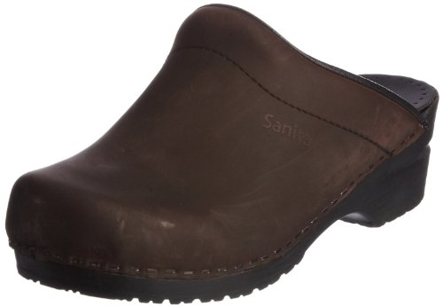 EU Originale Clog Marrone amp; Sabot 42 Sonja Donna Antico Sanita Gomma Oil OPqaOgS