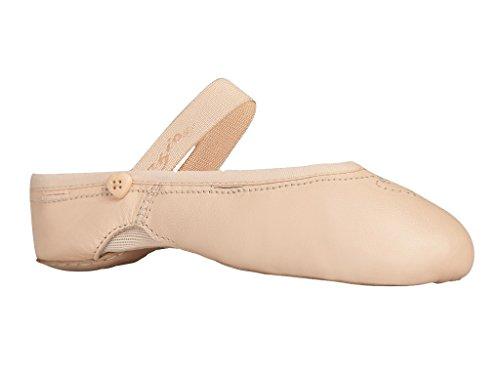 Capezio 2035C Children's Pink Love Ballett Schuh wächst mit Ihrem Fuß