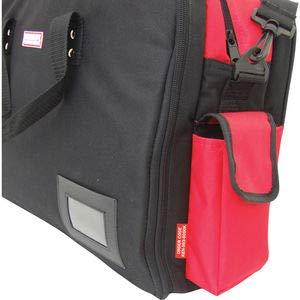 Kennedy-Pro Werkzeugtasche Servicetasche Nylon Laptop-Fach 530 x 190 x 335 mm rot//schwarz Tragegriff Schultergurt