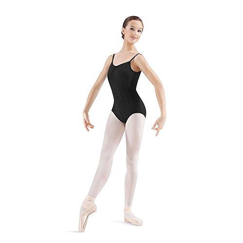 Bloch Dance Women's Mirella Women's Pinch Seam Camisole Leotard, Black, Medium (Leotards Seamed Princess)