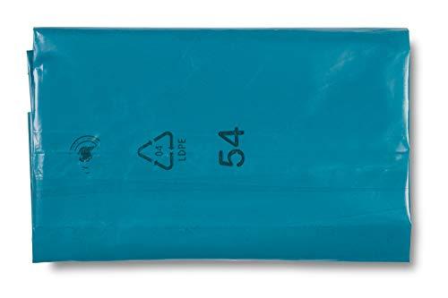 DEISS 90154 vuilniszakken, 240 L, blauw, extra sterk, 100 stuks