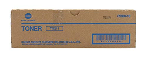Konica Minolta TN211 Toner Cartridge, Black (8938-413)