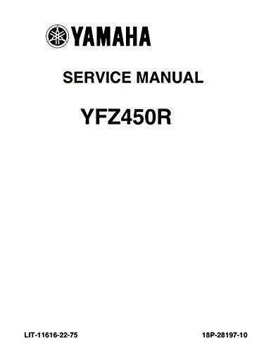 Amazon com: Yamaha YFZ450R, YFZ 450 R, 2009-2013, Service