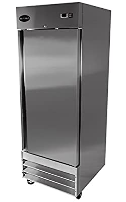 """Amazon!! Limited Time ONLY! Heavy Duty Commercial Stainless Steel Reach-In Refrigerator (23"""" One Solid Door)"""