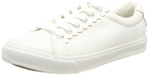 New Look Women's Wide Foot Mallop Trainers White (White 10) 0YMZtNCnzl