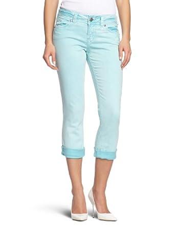 Silver Jeans Suki Capri 1 Cropped Women's Jeans Aqua W24INxL34IN ...