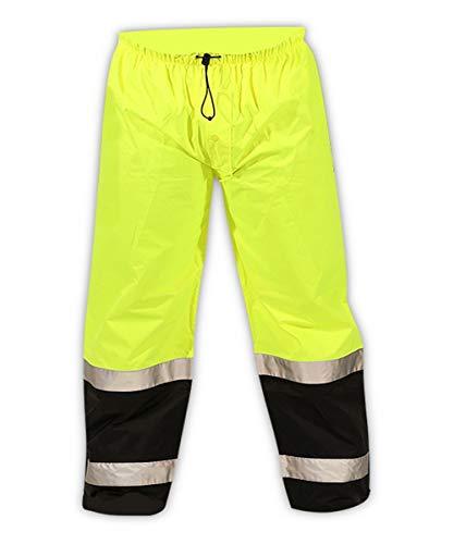 (Tingley P27122.3XL Icon LTE Polyurethane Coated Pant, 3X-Large, Hi/Vis Yellow)