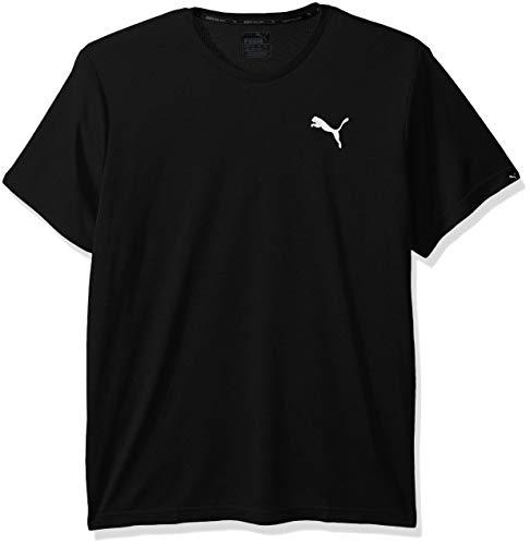 PUMA Men's Active T-Shirt, Black, L