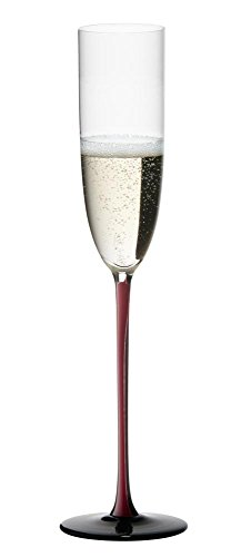 Riedel Sommeliers Black Series Champagne Glass, Red/Black by Riedel