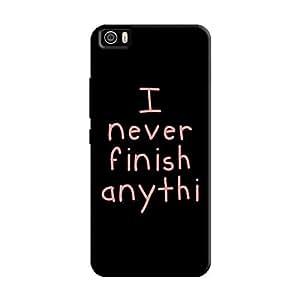 Cover It Up - I Never Finish Anythi Mi5 Hard Case