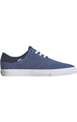 ate Shoe, Blue Twill, 9 M US (Globe Athletic Cap)