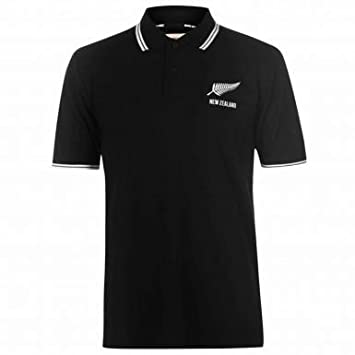 Nueva Zelanda Rugby Fans ocio Polo, Unisex: Amazon.es: Deportes y ...