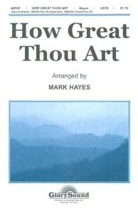 How Great Thou Art SHEET MUSIC SATB
