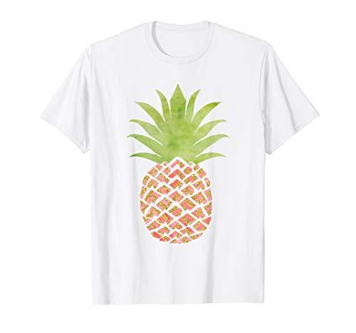 (Pineapple Shirt Women Men Cute Pineapple Print Premium Tee)