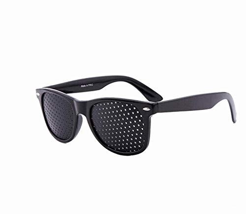 - Dciszl Black Vision Improvement Vision Health Sports Glasses Pinhole Glasses Training