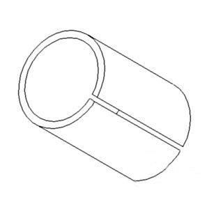 John Deere Bushing Spindle Upper/Lower Part No: A-R109452 (Upper Spindle)