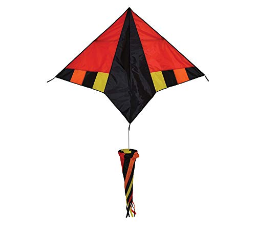 (Outdoor Garden Backyard Décor Hot Wind Delta Kite with Spinsock)