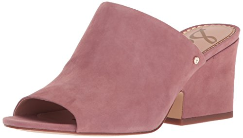 Sam Edelman Women's Rheta Wedge Sandal, Dusty Rose Suede, 7.5 Medium US (Wedges Suede Edelman)