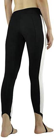 ヨガウェア ヨガパンツ女性ナインナイロンナイロンハイウエストステップフットレジャーハイウエスト速乾性ランニングパンツおなかコントロールパワーストレッチヨガレギンス