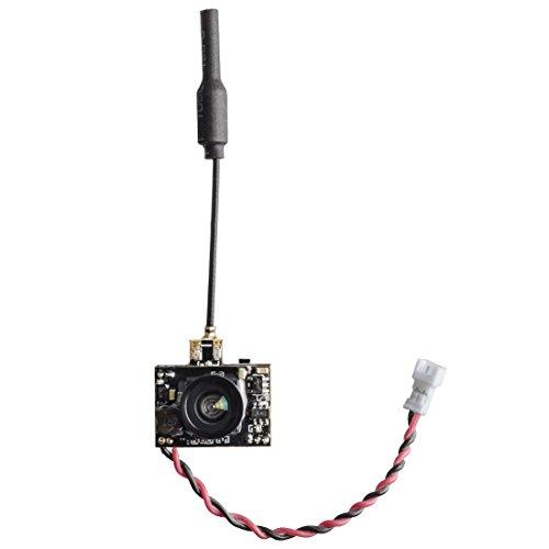 AKK A1-OSD FPV Camera 5.8GHz 48CH 25mW VTX - Micro AIO Camera with OSD - U.FL Antenna for FPV Racing Drone ()