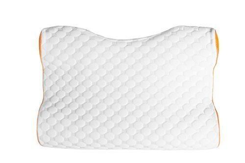 Memory Foam Pillow Impressions (Glideaway Sleep Harmony Revolution Tech Pillows Legend Contoured CPAP Pillow with Charcoal Infused Memory Foam and Moisture Wicking Fabric)