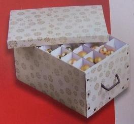 Aufbewahrungsbox Weihnachtskugeln.Mq Aufbewahrungsbox Organizer Kiste Box Für Weihnachtskugeln