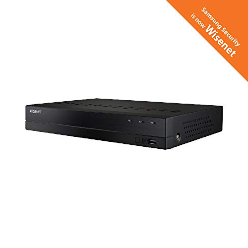 Wisenet SDH-B84045BF 8 Channel Super HD DVR Video Security System with 1TB  Hard Drive and 4 5MP