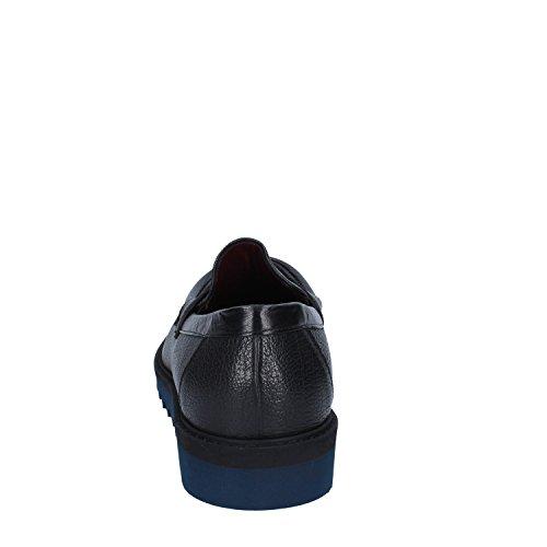Roberto Botticelli Mocasines de Piel Para Hombre Negro Negro Negro Size: 41 EU: Amazon.es: Zapatos y complementos