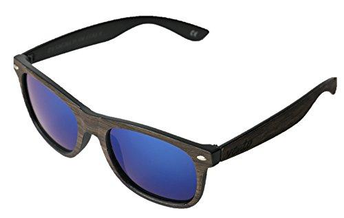 Wood UV400 y Gafas Eivissa modelo Vento Italia Eyewear® sol protección con CE madera de diseñadas de amp;Blue de en certificados bambú RgxAqtnx