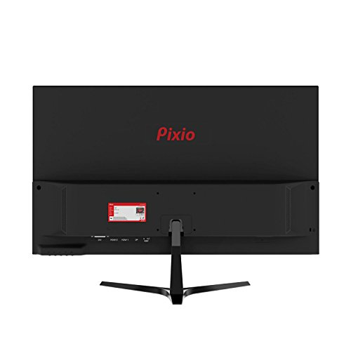 Pixio New PX277 27 inch 144Hz WQHD 2560 x 1440 Wide Screen Bezel Less Display Professional IPS (AH-VA) Adaptive Sync Gaming Monitor by Pixio (Image #3)