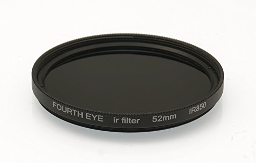 Fourtheye 52mm 850nm IR Infrared Filter for Olympus M.Zuiko Digital ED 9-18mm F4.0-5.6 by Fourtheye