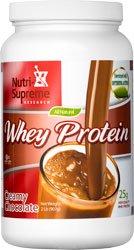Nutri-supreme Research Whey Protein Powder Dairy Cholov Yisroel Creamy Chocolate ()