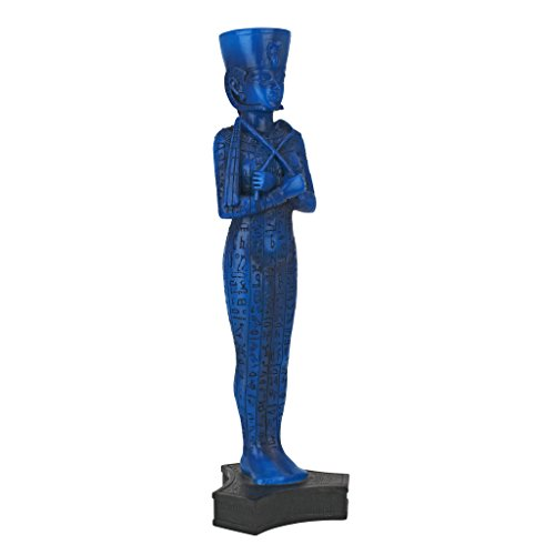 Design Toscano Egyptian Queen Ushabti Grave God Statue, 9 Inch, Blue