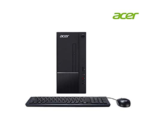 Acer Desktop PC Aspire Intel Core i3 8th Gen 8100 (3.60 GHz) 8 GB DDR4 1 TB HDD Intel Graphics 630 Win 10 Home 64-Bit