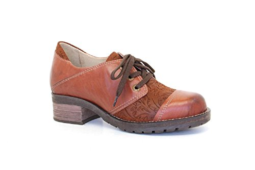 Dromedaris Womens Kalista Cognac Shoes