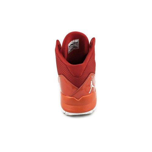 Chaussures De Basket-ball Aero Mania Nike Jordan Hommes-rouge / Blanc / Cramoisi-12