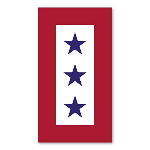 Blue Star Mother's Service Flag Magnet 3 ()