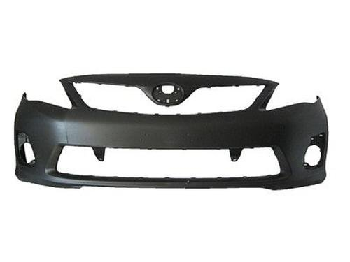 CPP Primed Front Bumper Cover Replacement for 2011-2013 Toyota Corolla
