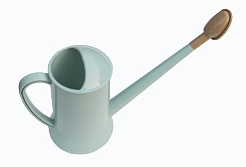 FITOOL Elegant Watering Can Long Spout 2L, Inornate Watering Pot (Mint ()